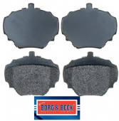 LR032954 Borg & Beck Brake Pad Set BBP1528
